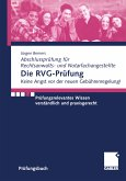 Die RVG-Prüfung (eBook, PDF)