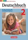 Deutschbuch Band 2: 6. Schuljahr - Realschule Baden-Württemberg - Arbeitsheft mit interaktiven Übungen auf scook.de