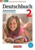 Deutschbuch Gymnasium Band 2: 6. Schuljahr - Baden-Württemberg - Arbeitsheft mit Lösungen und interaktiven Übungen auf scook.de