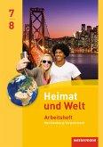 Heimat und Welt 7 / 8 . Arbeitsheft. Regionale Schulen. Mecklenburg-Vorpommern