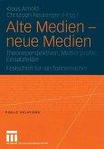Alte Medien - neue Medien (eBook, PDF)