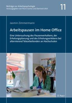 Arbeitspausen im Home Office