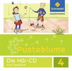 4. Schuljahr, Audio-CD zum Lesebuch, Audio-CD / Pusteblume. Das Lesebuch, Allgemeine Ausgabe 2015