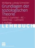 Grundlagen der soziologischen Theorie (eBook, PDF)