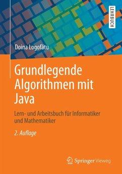 Grundlegende Algorithmen mit Java (eBook, PDF) - Logofătu, Doina