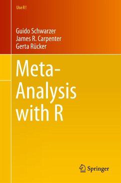 Meta-Analysis with R (eBook, PDF) - Schwarzer, Guido; Carpenter, James R.; Rücker, Gerta