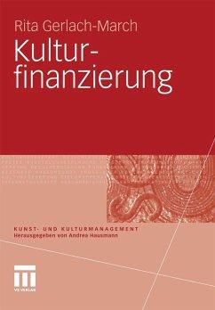 Kulturfinanzierung (eBook, PDF)