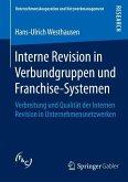 Interne Revision in Verbundgruppen und Franchise-Systemen (eBook, PDF)