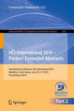 HCI International 2014 - Posters' Extended Abstracts (eBook, PDF)
