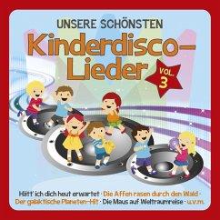 Unsere schönsten Kinderdisco-Lieder, 1 Audio-CD - Familie Sonntag