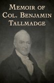 Memoir of Col. Benjamin Tallmadge (eBook, ePUB)