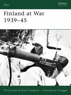 Finland at War 1939-45 (eBook, ePUB) - Snodgrass, Brent; Jowett, Philip