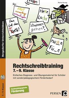 Rechtschreibtraining - 7.-9. Klasse