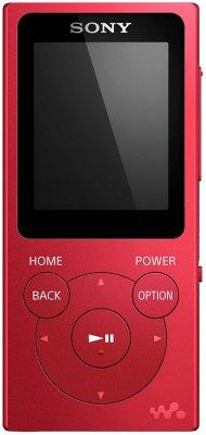 Sony NW-E394 Walkman 8GB rot