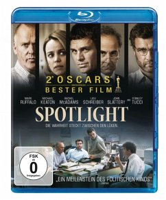 Spotlight - Mark Ruffalo,Michael Keaton,Rachel Mcadams