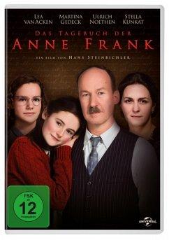 Das Tagebuch der Anne Frank (DVD) - Lea Van Acken,Martina Gedeck,Ulrich Noethen