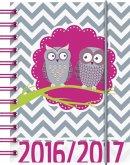 BRUNNEN Schülerkalender/Schüler-Tagebuch 2016/17 Eule