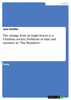 The change from an Anglo-Saxon to a Christian society. Problems of time and narrative in