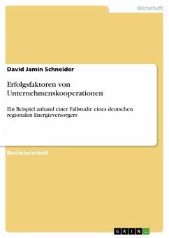 Erfolgsfaktoren von Unternehmenskooperationen (eBook, PDF)