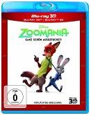 Zoomania - Ganz schön ausgefuchst! (Blu-ray 3D + Blu-ray)