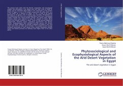 Phytosociological and Ecophysiological Aspects of the Arid Desert Vegetation in Egypt