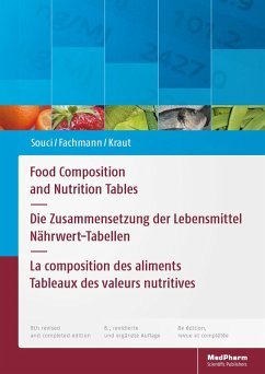 Food Composition and Nutrition Tables (eBook, PDF)