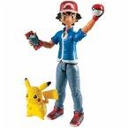 Ash und Pikachu Actionfigur / Pokemon