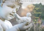 Engel - Träume und Zitate (Tischkalender 2017 DIN A5 quer)