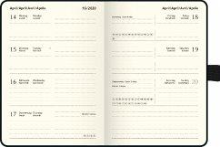 Taschenkalender Kompagnon sw 2020