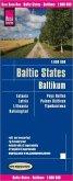 Reise Know-How Landkarte Baltikum (1:600.000) : Estland, Lettland, Litauen und Region Kaliningrad; Baltic States / Pays
