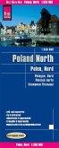 Reise Know-How Landkarte Polen, Nord (1:350.000); Northern Poland / Pologne Nord / Polonia norte