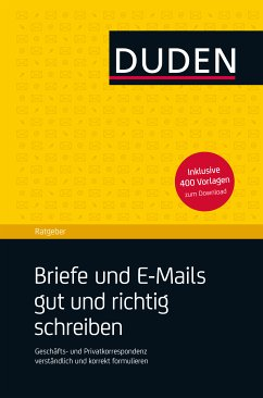 Duden Ratgeber - Briefe und E-Mails gut und richtig schreiben (eBook, ePUB) - Dudenredaktion