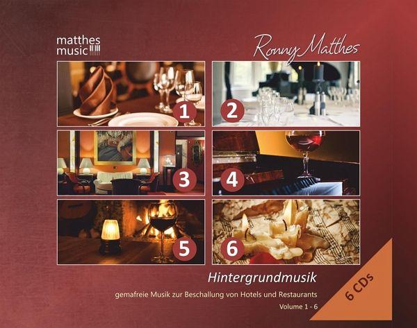 hintergrundmusik vol 1 6 gemafreie musik 6cds von ronny. Black Bedroom Furniture Sets. Home Design Ideas