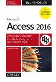Microsoft Access 2016 - Das Handbuch (eBook, PDF)