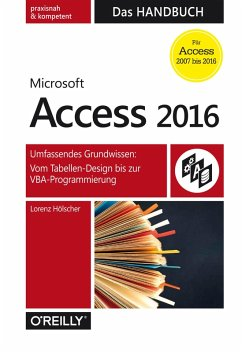 Microsoft Access 2016 - Das Handbuch (eBook, PDF) - Hölscher, Lorenz