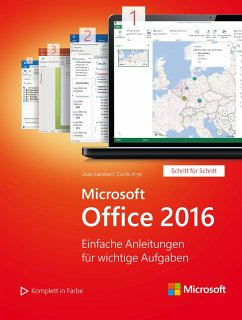 Microsoft Office 2016 (Microsoft Press) (eBook, PDF) - Lambert, Joan; Frye, Curtis