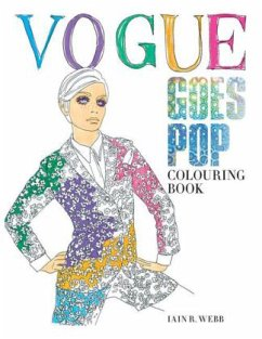 Vogue Goes Pop Colouring Book