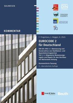 Eurocode 2 für Deutschland - Fingerloos, Frank;Hegger, Josef;Zilch, Konrad