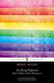 On Being Different (eBook, ePUB)