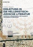 Einleitung in die hellenistisch-jüdische Literatur (eBook, ePUB)