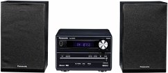 Panasonic SC-PM250EG-K Micro HiFi System (20 Watt RMS, CD, Radio UKW, Bluetooth) schwarz