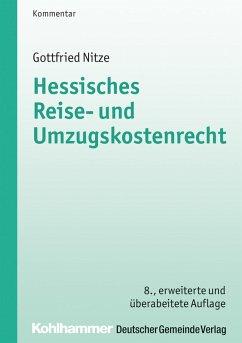 Hessisches Reise- und Umzugskostenrecht (eBook, PDF) - Nitze, Gottfried