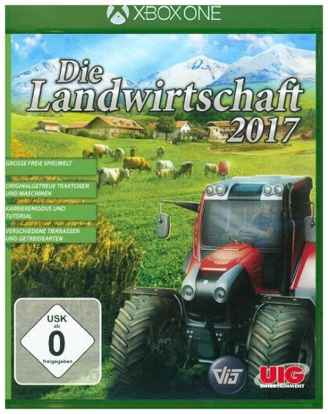 die landwirtschaft 2017 xbox one spiel. Black Bedroom Furniture Sets. Home Design Ideas