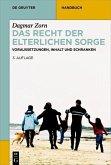 Das Recht der elterlichen Sorge (eBook, PDF)