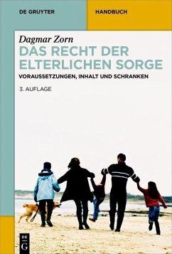 Das Recht der elterlichen Sorge (eBook, PDF) - Zorn, Dagmar