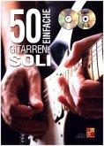 50 einfache Gitarren-Soli, Buch + DVD + MP3-CD