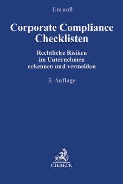 Corporate Compliance Checklisten
