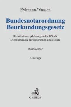Bundesnotarordnung, Beurkundungsgesetz