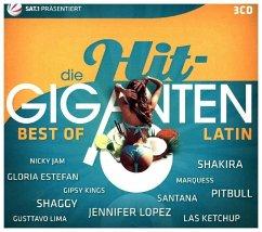 Best of Latin, 3 Audio-CDs / Die Hit-Giganten, Audio-CDs
