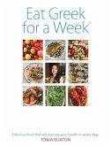 Eat Greek for a Week (eBook, ePUB)